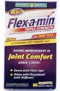 Natures Bounty FLEX-A-MIN WITH JOINT FLEX 60 Coated Tablets